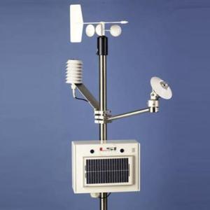 Fixed station , solar panel power supply