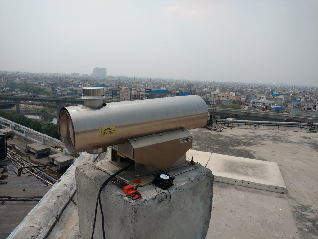 Ambient Air Quality System Installed In Central Pollution